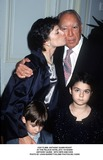 Anthony Quinn Photo -  Anthony Quinn Roast at the Palace Hotelnyc 10192000 Anthony Quinn with Wife and Kids Photo by John BarrettGlobe Photosinc