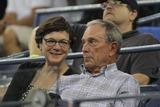 Mayor Bloomberg Photo - Mayor Bloomberg Diana Tayor Celebrity at Usopen Tennis Day 9 at Arthur Ashe Stadium 9-2-2014 John BarrettGlobe Photos