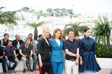 Aymeline Valade Photo - Lea Seydoux Amira Casar Bertrand Bonello and Aymeline Valade Saint-laurent Photo Call Cannes Film Festival 2014 Cannes France May 17 2014 Roger Harvey