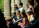 Jacqueline Kennedy Onassis Photo - Jacqueline Kennedy Onassis Mars John Barns Mrs Alice Campbell Photo by Globe Photos Inc V4470 1966 Jacquelinekennedyonassisretro