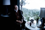 Ansel Adams Photo - Ansel Adams at Hoime in Carmel CA Photo Amy Stromsten Globe Photos Inc 1975 Ansel Adams