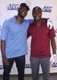 Aldis Hodge Photo - Academy of Television Arts  Sciences 12th Primetime Emmy Celebrity Tee-off at the Oakmont Country Club in Glendale CA 91211 Photo by Scott Kirkland-Globe Photos   2011 Aldis Hodge and Edwin Hodge