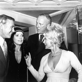 Eva Gabor Photo - Eva Gabor Withfrank Jamieson  Johnny Carson and Wife Supplied by Globe Photos Inc