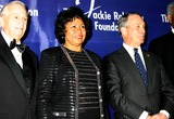 Ruth Simmons Photo - K36044MLTHE JACKIE ROBINSON FOUNDATION WILL HOST ITS ANNUAL AWARDS DINNER HONORING RECIPIENTS OF THE 2004 ROBIE AWARDS AT THE GRAND BALLROOM OF THE WALDORF ASTORIA HOTEL IN NEW YORK CITY382004PHOTO BYMITCHELL LEVYRANGEFINDERSGLOBE PHOTOS INC  2004JW MARRIOTT JR DR RUTH SIMMONS MAYOR MICHAEL BLOOMBERG