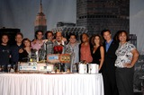 Anna Belknap Photo - AJ Buckley Robert Joy Anna Belknap Eddie Cahill Carmine Giovinazzo Anthony E Zuiker Peter Lenov Hill Harper Melina Kanakaredes Pam Veasey and Gary Sinise during the CSI NY 100th Episode Cake Cutting Celebration held at the CBS Paramount Studios on September 16 2008 in Los AngelesPhoto Michael Germana - Globe PhotosK59651MGE