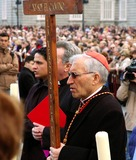 Antonio Maria Rouco Varela Photo - Madrid Spain_cardinal Antonio Maria Rouco Varela of Madrid (Sunglasses) Celebrates the Opening of the Easter Holy Week in Madrid in Front of the Spanish Royal Palace 04-04-2007 Photo by Neil Schneider-Globe Photos Inc