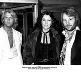 Annifrid Lyngstad Photo - Abba Bjorn Ulvaeus Anni-frid Lyngstad and Benny Anderson Photo Supplied by Globe Photosinc