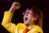 Elton John Photo - Elton John Starts His Concert in Dortmund  Germany 6-3-1972 Photo by Dpa-ipol-Globe Photos Inc