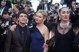 Xavier Dolan Photo - Jury Members Xavier Dolan (l-r) Sienna Miller and Rossy De Palma Attend the Premiere of Standing Tall During the Opening of the 68th Annual Cannes Film Festival at Palais Des Festivals in Cannes France on 13 May 2015 Photo Alec Michael