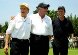 James Garner Photo - Michael Douglas James Garner James Woods Celebrity Hole-in-one Golf Tournament Presented by Lexus  Benefitting the Motion Picture and Television Fund at the Ojai Valley Inn and Spa Ojai CA June 30 2002 Photo by Nina PrommerGlobe Photos Inc2002