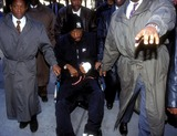 Tupac Shakur Photo -  Sd1211994 Tupac Shakur Outside Court the Day After His Shooting  NYC Photo by Anders Krusberg  Ipol  Globe Photosinc